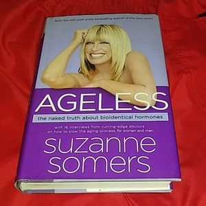 Ageless by Suzanne Somers a must read